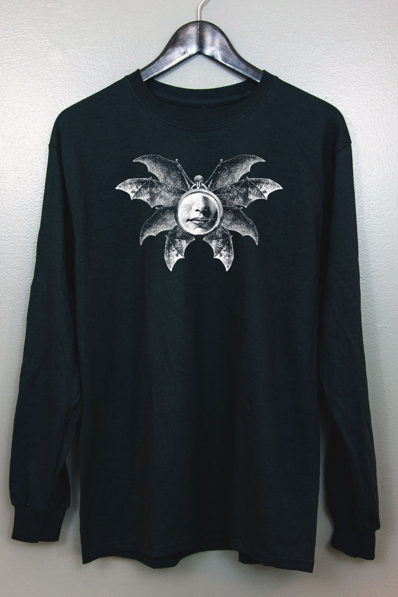 Occult art Long Sleeve T-Shirt  Gothic clothing Esoteric Nu image 0