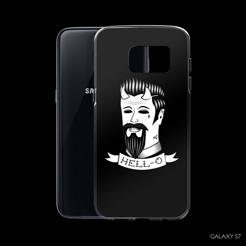 Gothic Samsung Galaxy S7 S8 S9 plus Case  Nu goth Tumblr Samsung Galaxy S7