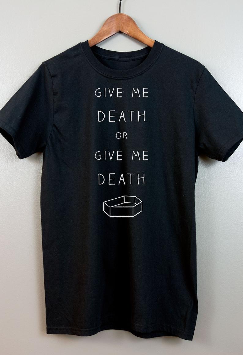 Gothic Short-Sleeve T Shirt  Nu goth Pastel goth Soft grunge image 0