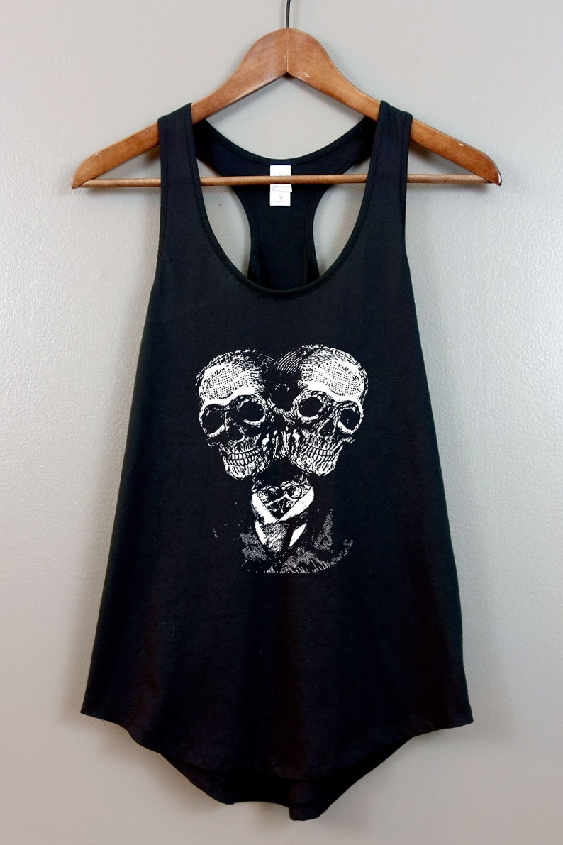Occult Womens Racerback Tank Top Shirt  Gothic clothing image 0