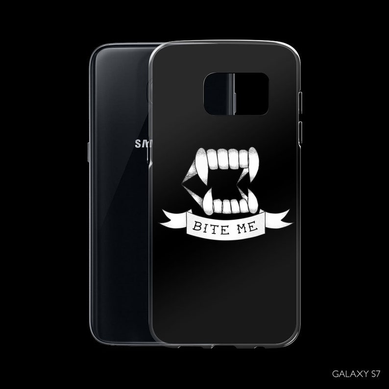 Gothic Samsung Galaxy S7 S8 S9 plus Case  Nu goth Tattoo Samsung Galaxy S7