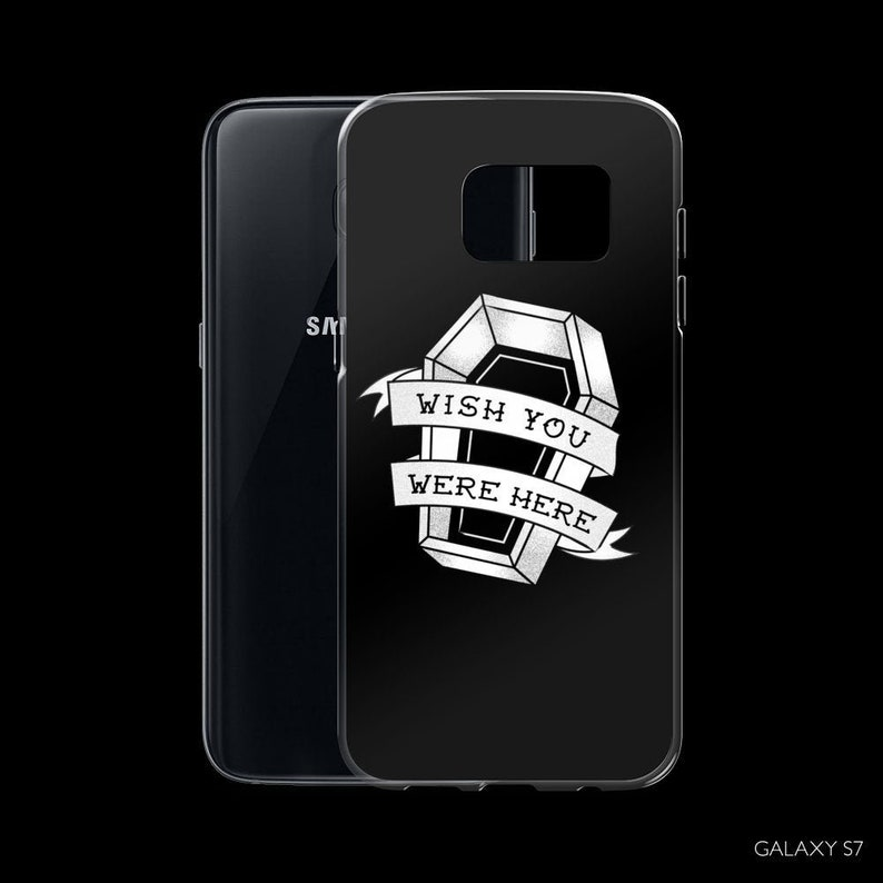 Gothic Samsung Galaxy S7 S8 S9 plus Case  Tattoo Flash Sailor Samsung Galaxy S7