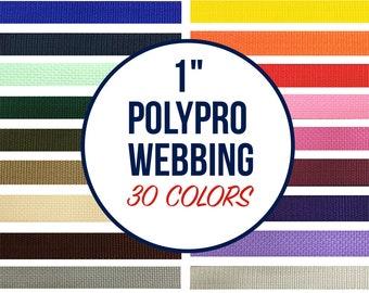 """1"""" Polypropylene Webbing 100 Yd. Roll"""