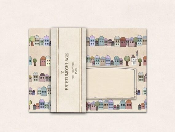 10x Envelope Houses