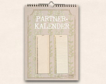 B-Ware : Partner calendar - the year for two