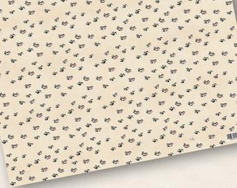 3x Gift paper Bird swarm 50x70