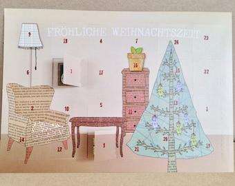 Postcards Advent Calendar