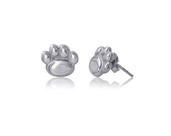 Penn State Sterling Silver Post Earrings,  Nittany Lions Silver Jewelry, PSU-6120