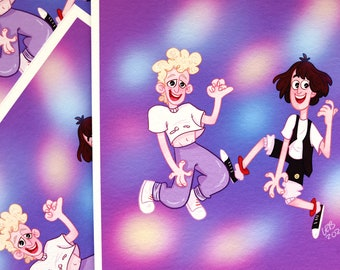 Bill and Ted | Print