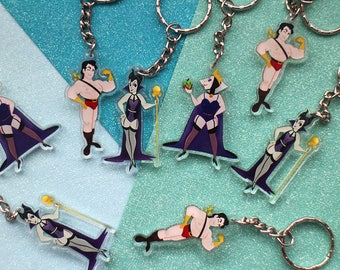 Disney Villains Pin Up | Keychains