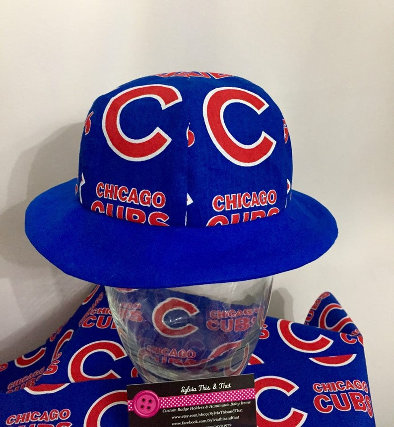 4a618f20 Baby/Toddler/Child Reversible Chicago Cubs Sun Hat | Etsy