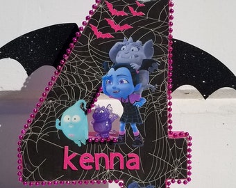 vampirina personalized 16 inch number toys not included it