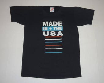 Made in the USA Jason T-Shirt Vintage 1980s L 14-16