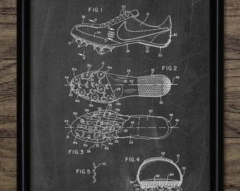 ed6df3d56f Athletics Track Shoe Print - Running Shoe - Athletics Wall Art - Distance  Runner - Sprint - Sport - Single Print #2288 - INSTANT DOWNLOAD