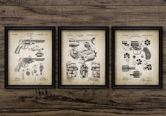 vintage schusswaffen handbucher