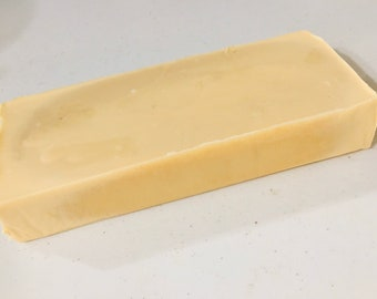MELT & POUR SOAP block- 2lb vegan, natural, handmade, cold processed soap base for shampoo for body bars. No harmful ingredients.