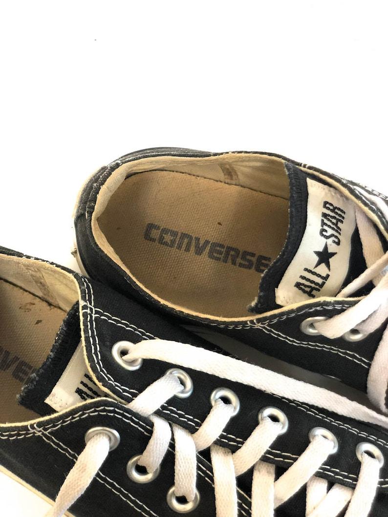 Vintage anni '90 Classic Converse All Star Mens 6 / Black SAgxDRRK