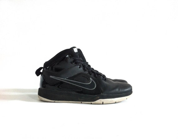Vintage Black Nikes // Black High Tops // Nike Hig