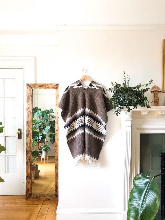 Vintage 70s Blanket Poncho / Ethnic Oversized Bagg