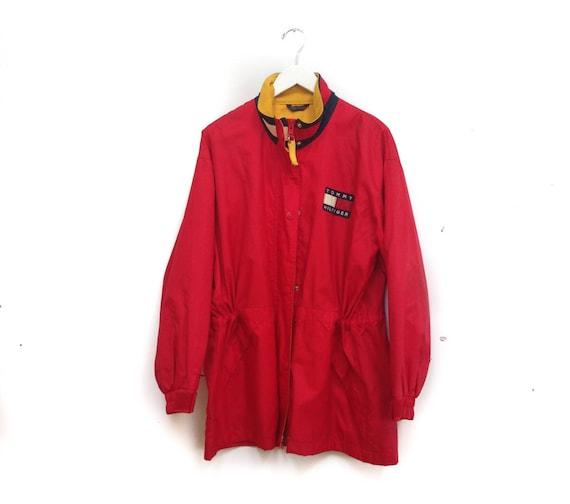 Vintage 90s Tommy Hilfiger Jacket / Tommy Windbrea