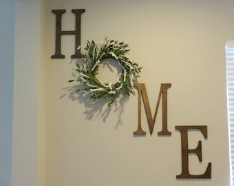 home letter set new home gift wood letter home letters wood wall letters home wooden letters farmhouse decor home wall decor