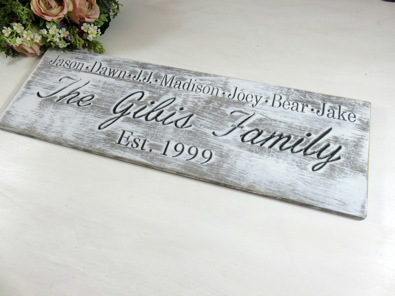 Signs for Families  Family Plaque  Established Signs  image 0