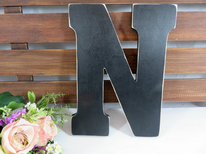 Letters Painted  12 Inch Letters  Letters to Spell  Nursery image 0