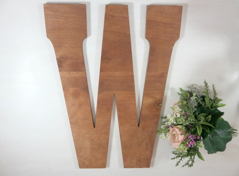 Rustic Wedding Letters   Wedding Letters  Large Wood Letters image 0