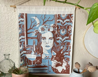 Anne of Green Gables Inspired Wall Hanging Art