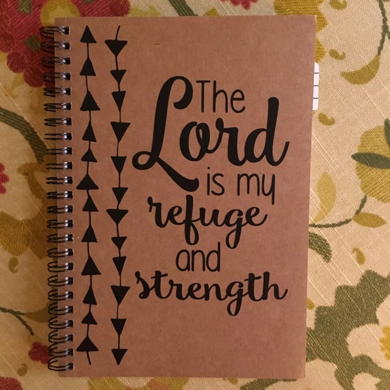 The Lord is My Refuge Digital File .Studio file, png, and pdf, NO SVG