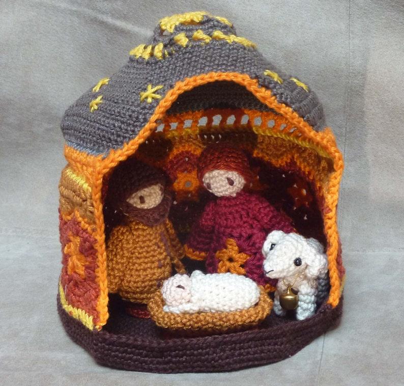 Christmas Nativity crochet pattern