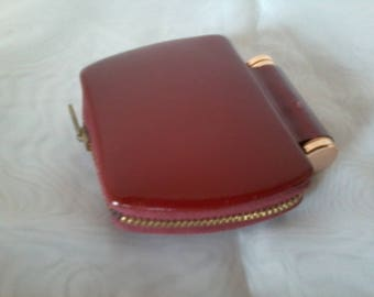 Mirror and powder compact for 1950s handbag