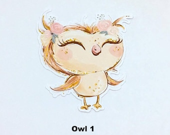 Forest Owl Die Cuts