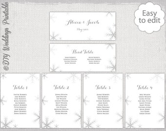Wedding Seating Chart Template Black And White - Wedding seating chart template word