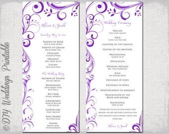 Diy wedding programs | invitations | pinterest | diy and crafts.