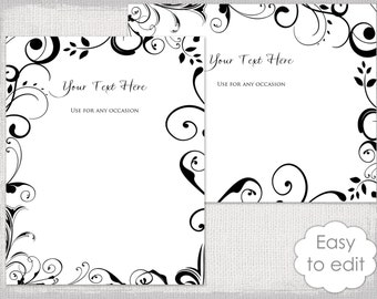 wedding templates etsy ca