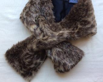 Faux fur scarf  e9735da6621a9