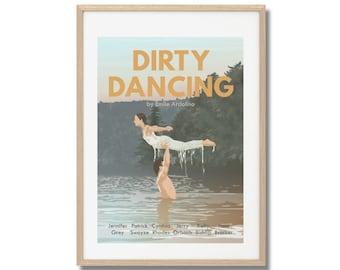 Dirty Dancing - Print - Poster - Emile Ardolino  A3