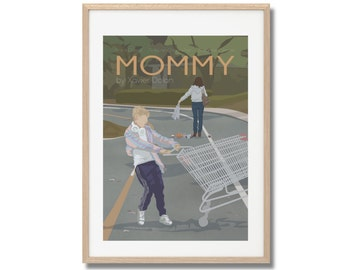 Mommy Movie Print - Poster Xavier Dolan A3