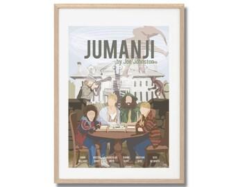 Jumanji - Movie Inspired Poster - Joe Johnston A3
