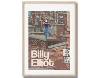 Billy Elliot Movie Print - Poster