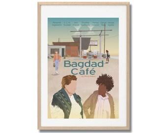 Bagdad Café (Out of Rosenheim) Movie Print - Poster A3