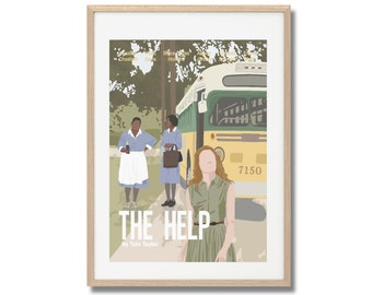 The Help Movie Print - Poster Tate Taylor A3