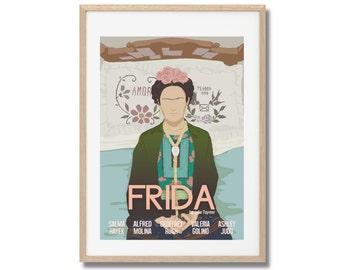 Frida Movie Print - Poster Julie Taymor A3