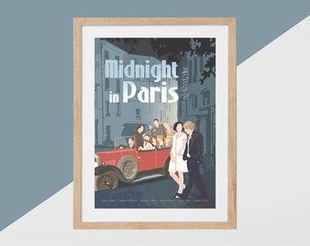 Midnight in Paris Movie Print - Poster Woody Allen A3