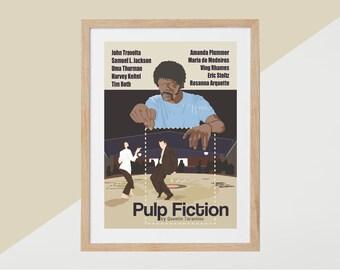 Pulp Fiction Movie Print - Poster Quentin Tarantino A3