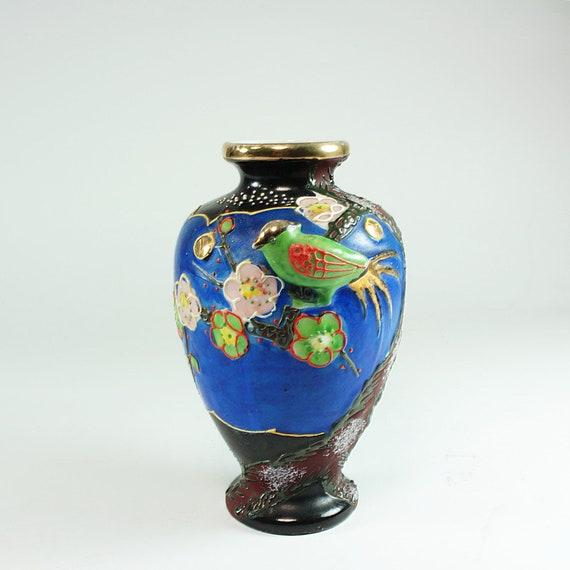 Japanese Vase Vintage Home Decor Vintage Vase Antique Etsy