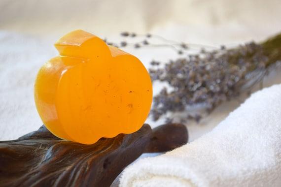 Pumpkin Soap Handmade Organic Soap Fall Wedding Favors Etsy