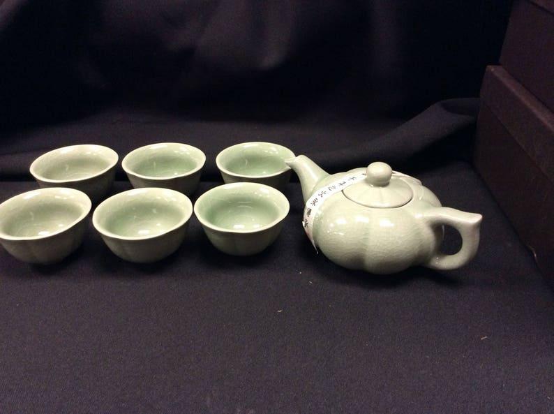 Ice crack  Gaiwan Tea Set 7pcs w gift box