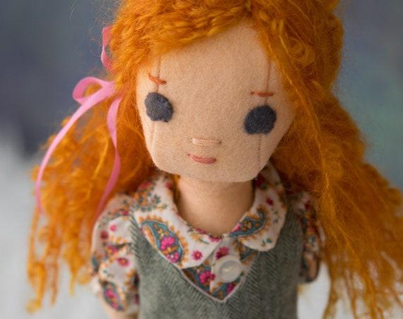 ExtraSmall Redhead  Rag Doll